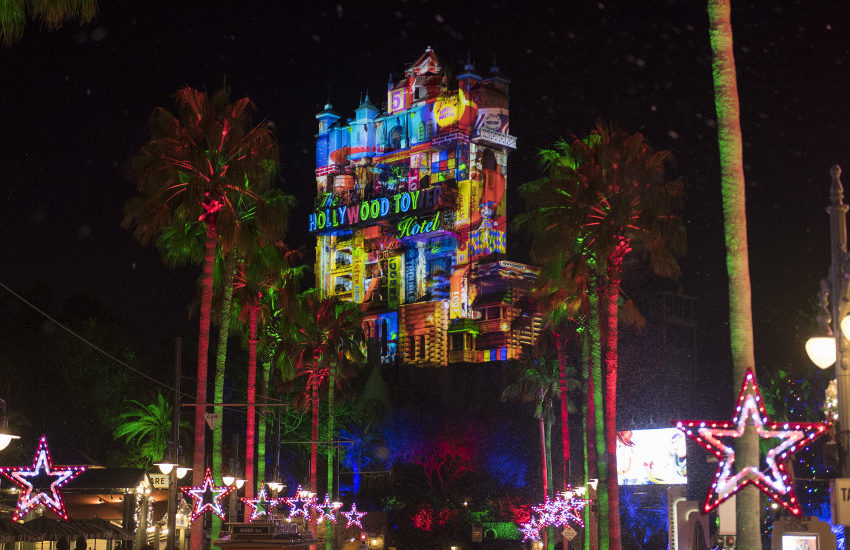 Sunset Seasons Greetings at DisneyÕs Hollywood Studios